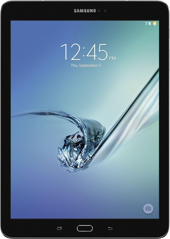 """Samsung - Galaxy Tab S2 - 9.7"""" - 64GB - Black"""