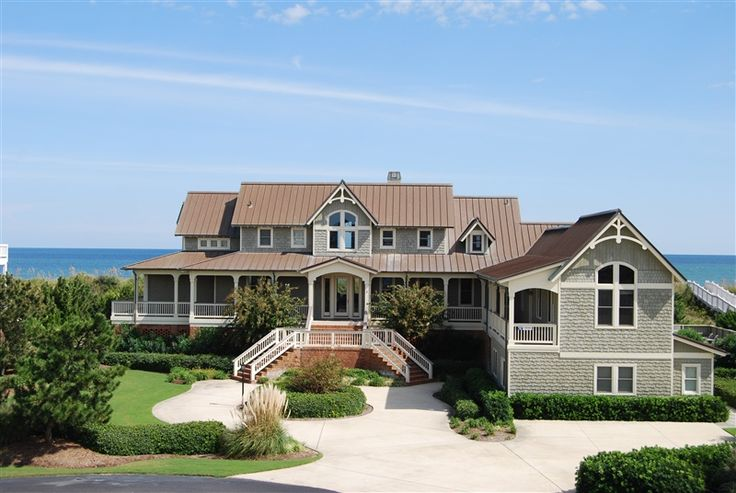 Four Seasons Retreat 601 Duck Nc Vacation Rental Home L Spectacular Oceanfront 7 000 Sf