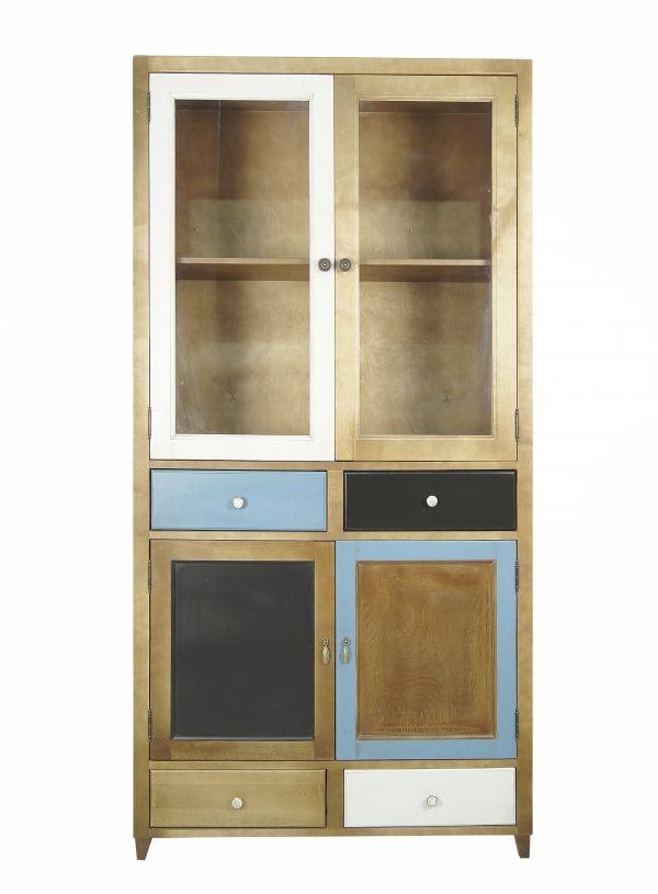 """Шкаф-буфет """"Aquarelle Birch"""" - 1318724507 - дизайнерский шкаф, прованс, винтаж, из массива березы. Хранение на кухне, гостиной, в спальне, кабинете."""