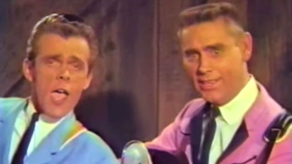 Country Music Lyrics - Quotes - Songs Johnny paycheck - George Jones and Johnny Paycheck - The Love Bug ('Forty Acre Feud' Film) (WATCH) - Youtube Music Videos http://countryrebel.com/blogs/videos/18675451-george-jones-and-johnny-paycheck-the-love-bug-forty-acre-feud-film-watch