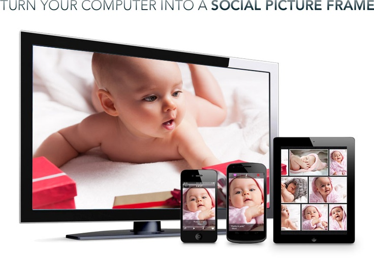 familiar - turn your computer into a social picture frame: App, Familiar Rai, Familiar Photos, Kids Pics, Shared Photos, Families Photos, Iphone Ipod, Pictures Frames, Photos Shared