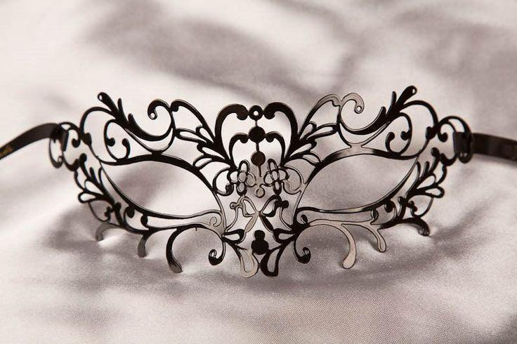 Masquerade Masks - Filigree Metal Masks - Elegant Masks