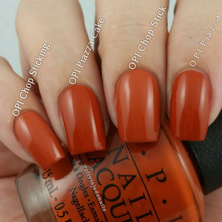 Cake Nail Polish Designs: OPI It's A Piazza Cake Vs OPI Chop Sticking To My Story
