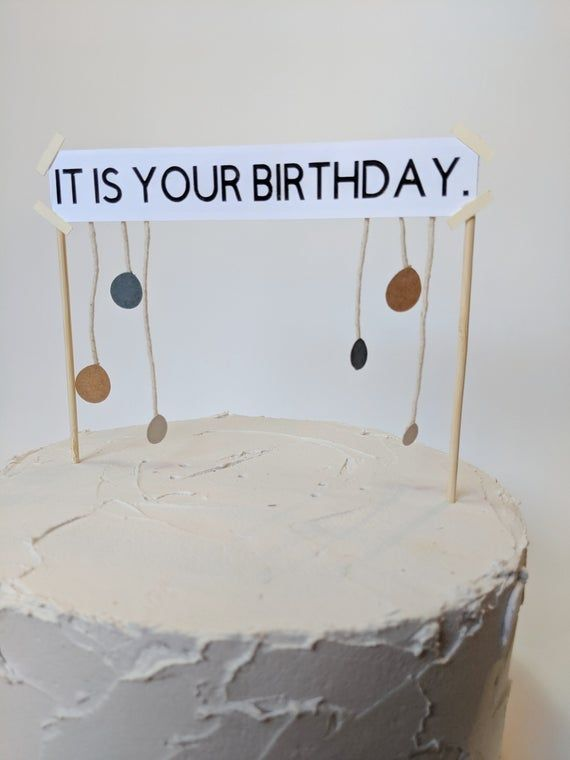 Swell It Is Your Birthday Cake Topper The Office Cake Topper Funny Birthday Cards Online Fluifree Goldxyz
