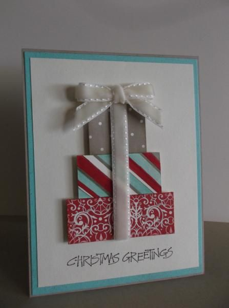 Christmas Presents by stampin'nana - Cards and Paper Crafts at Splitcoaststampers