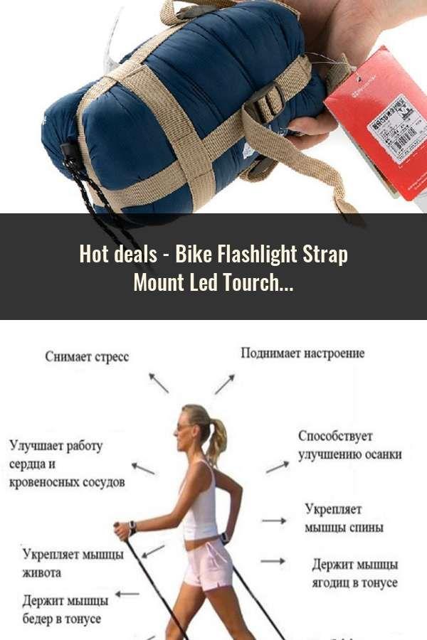Bike Flashlight Strap Led Tourch Clip Clamp Magic Band Lock Block Mountain