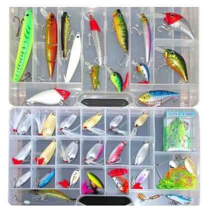 New Lure Kit Fishing Lures Minnow Soft Bait Artificial Freshwater Saltwater Lure