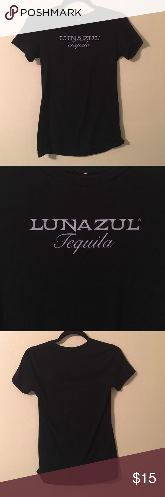 Lunazul Tequila Women's Tee Wore this for an event. Excellent condition, only worn once. All items come from a smoke free home and are shipped either on the same day or next day the order was placed. Tops Tees - Short Sleeve