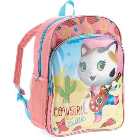 Sheriff Callie 16 Inch Backpack, Pink