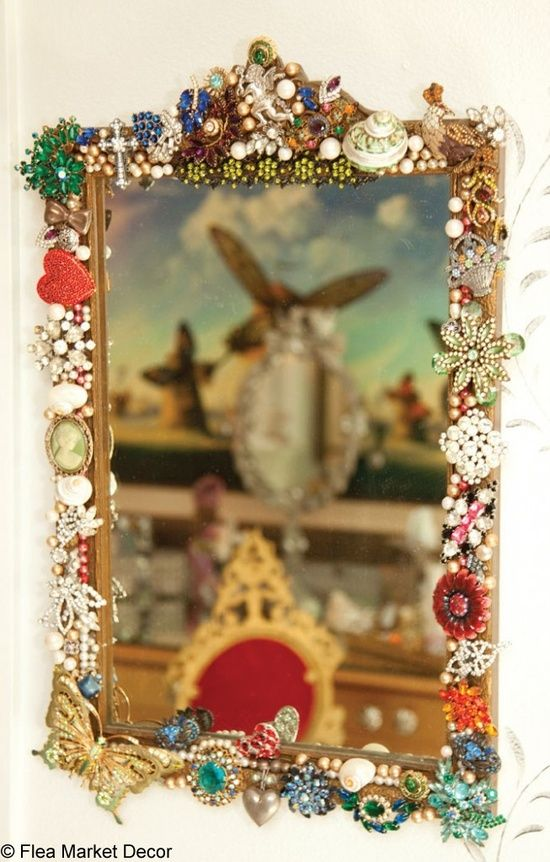 82 best mirror brooches images on Pinterest   Jewelry ideas, Vintage ...