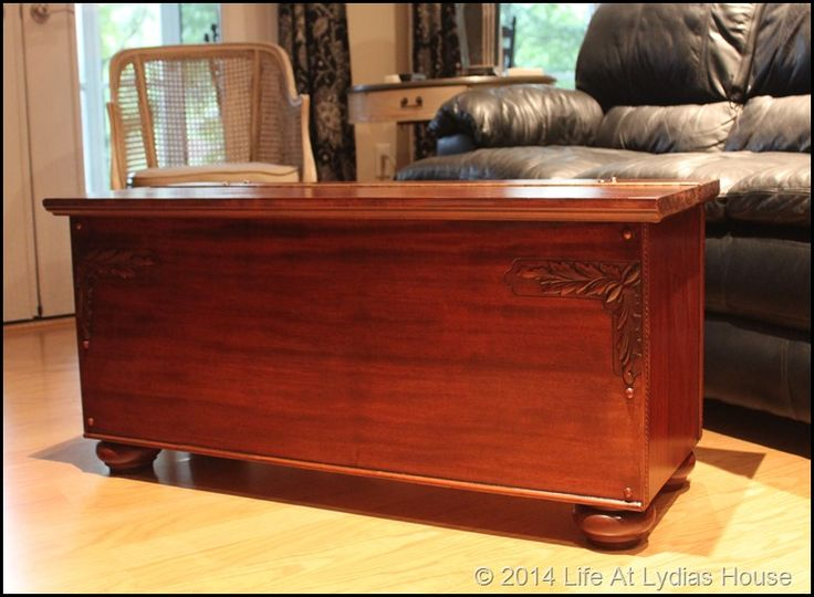 Blanket Chest From Piano Parts Repurposed Upright Piano