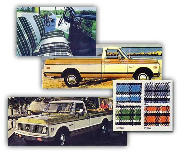 White Diamond Truck Color Code: Plaid Highlander Trim