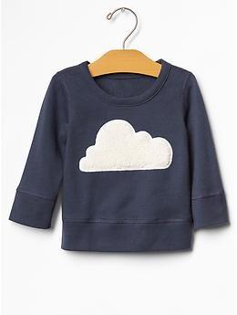 Cloud sweatshirt, cute for next winter.