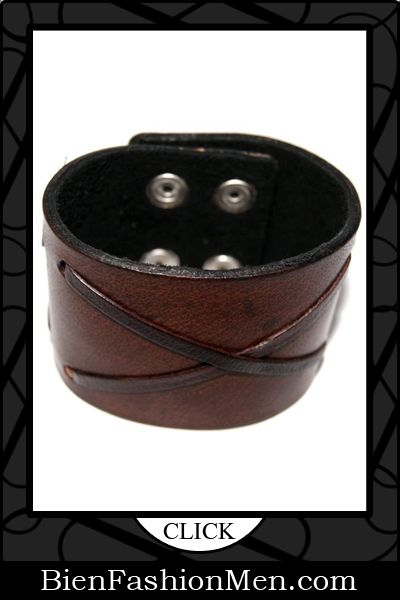 "Mens Leather Cuffs | Mens Bracelets | Mens Jewelry | Mens Accessories | Bracelets on Men | Mens Jewelery | Shop Now ♦ Unisex Brown Bracelet Size 2"" Lace Strip Style From 100% Unique Genuine Leather Style - Handmade Leather Cuff Bracelet By Patteno Leather $24.59"