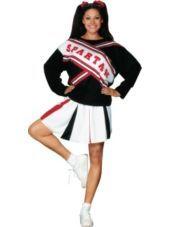 SNL Spartan Cheerleader Costume for Women-#PartyCity #Halloween $24.99