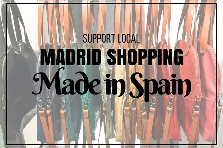 When I studied abroad in Madrid 3 years ago, I had a really hard time finding things from Spain to bring home. Sure there were lots of Spanish brands and tacky souvenir shops lining the center, but…