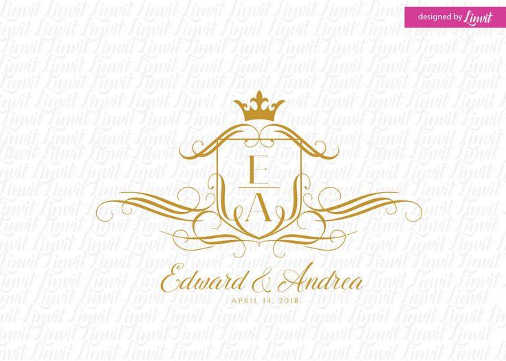 luxury wedding monogram- wedding logo-wedding crest-custom wedding monogram-signo-monograma-monograma de la boda-signo de la boda-