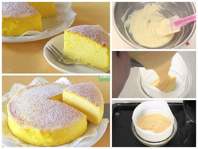 Japán torta 3 alapanyagból
