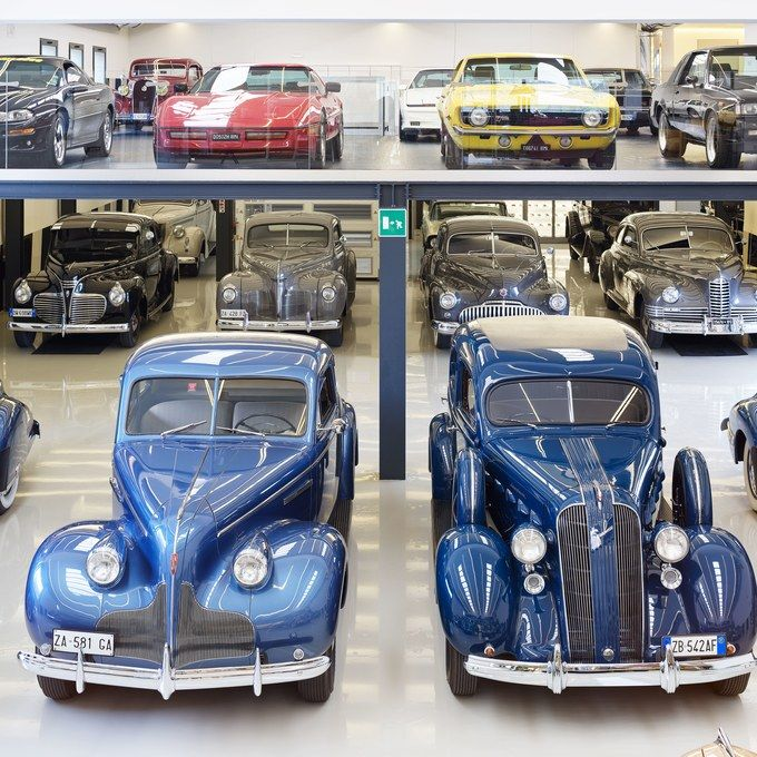 Cars Collector Garages: Nicola Bulgari Houses His Lavish Car Collection In A Sleek