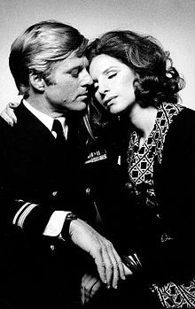 """""""The Way We Were"""". Robert Redford as Hubble, Barbra Streisand as Katie. Directed by Sydney Pollack. 1973"""