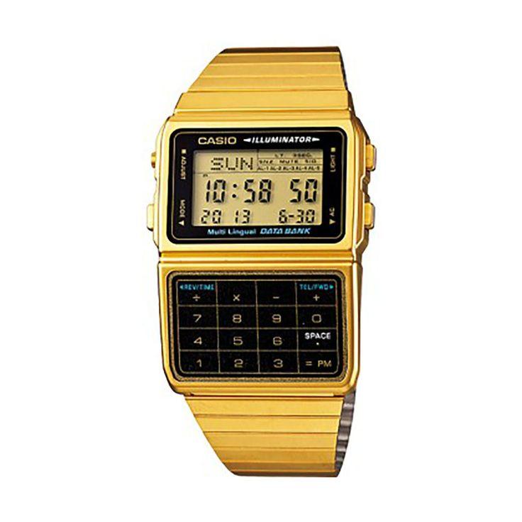 Casio Digital Casual Outgear Gold Made In Japan Mens Dbc-611g-1d