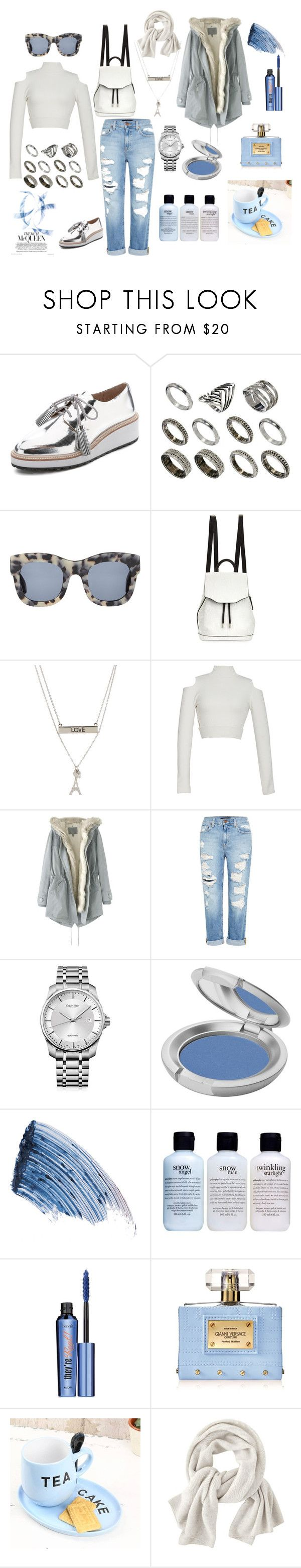"""""""Untitled #402"""" by thestyle-chic ❤ liked on Polyvore featuring Loeffler Randall, ASOS, Illesteva, rag & bone, Aéropostale, Jonathan Simkhai, Wrap, Genetic Denim, Calvin Klein and T. LeClerc"""