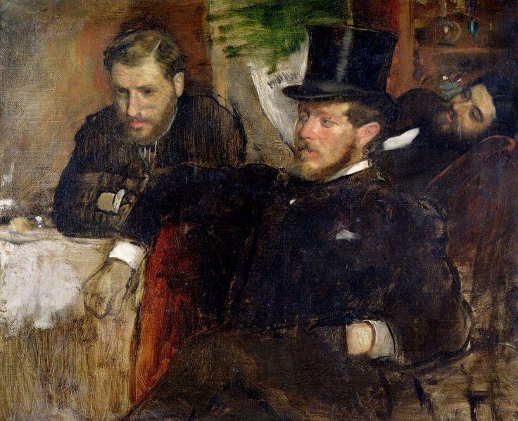 Эдгар Дега — «Жанто, Лине и Лэне», 1871 г.