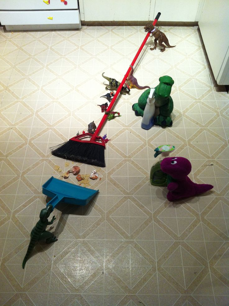 Dinovember clean-up!