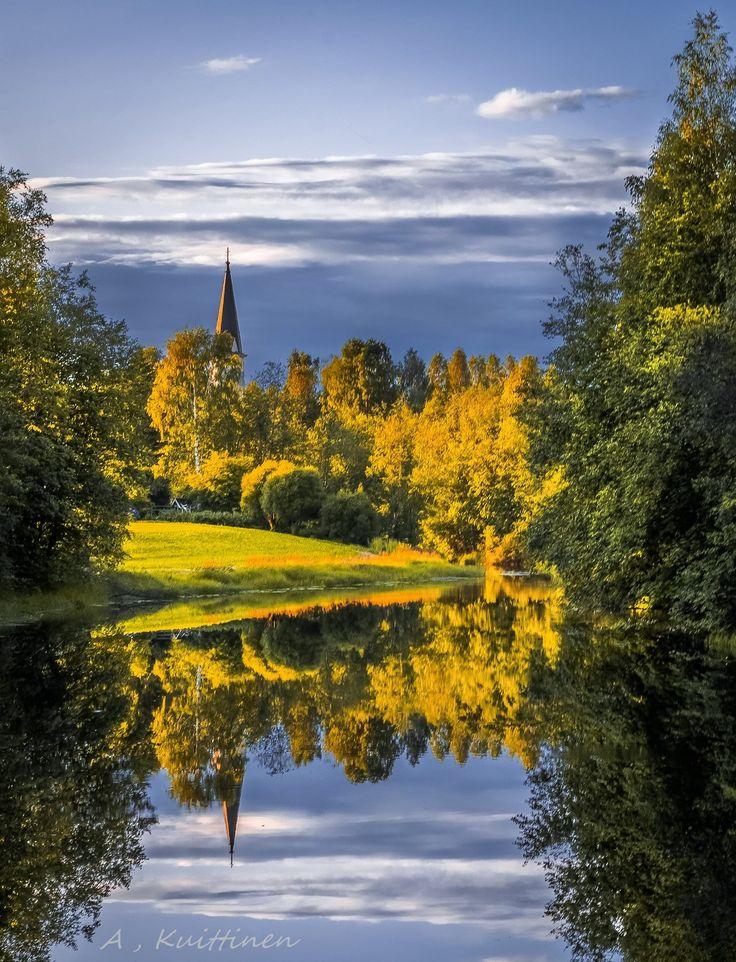 Viekinkirkko Lieksa Finland