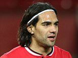 MANCHESTER, ENGLAND - MARCH 10:  Radamel Falcao of Manchester United U21s reacts to being substituted during the Barclays U21 Premier League match between Manchester United and Tottenham Hotspur at Old Trafford on March 10, 2015 in Manchester, England.  (Photo by Matthew Peters/Man Utd via Getty Images)
