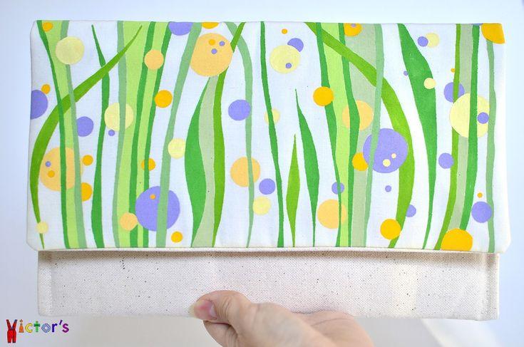 """""""Meadow in Bloom"""" clutch"""