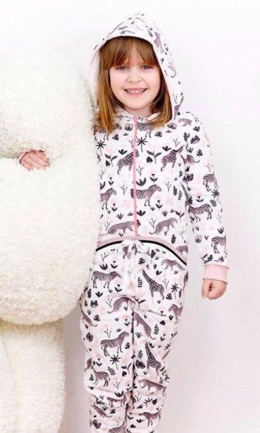 4b8e6903670315 Overall Schlafanzug nähen für Kinder - Schnittmuster und ...