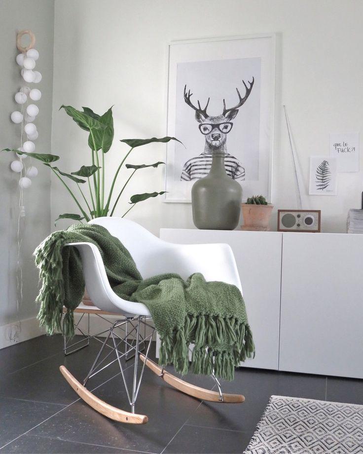 Groen is een populaire kleur in de zomer, maar ook voor het aankomende herfstseizoen. Het past goed bij de botanische woontrend!