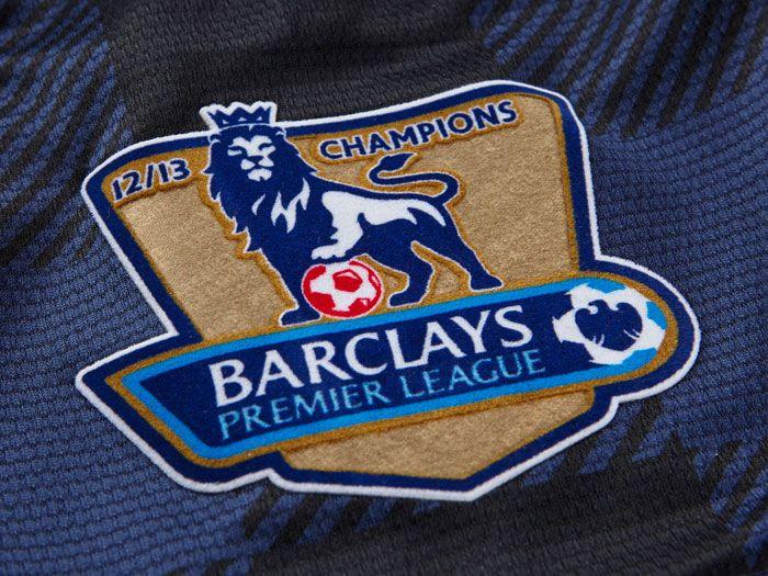 English Premier League gold badge. Champs 2012/13.