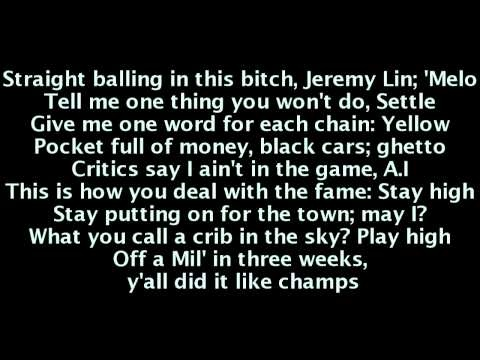 Nicki Minaj - Champion (Lyrics) Ft. Nas, Drake & Young Jeezy