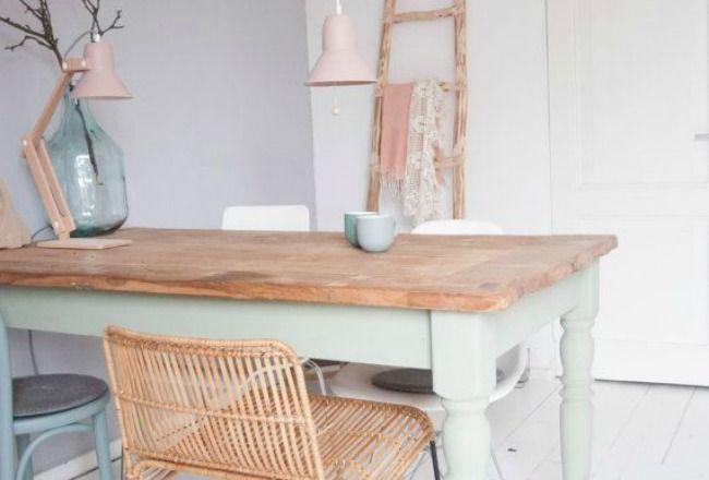 Relooker une table de salle à manger
