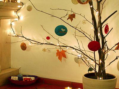 17 mejores im genes sobre decoraci nadalenca en pinterest - Arbol de navidad hecho en casa ...