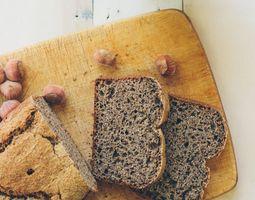 Nuss-Sesambrot mit Buchweizen Rezept #bread #buckwheat