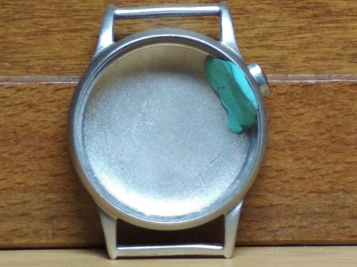 Vintage Case Watch with One Button One Push for Parts or Repair