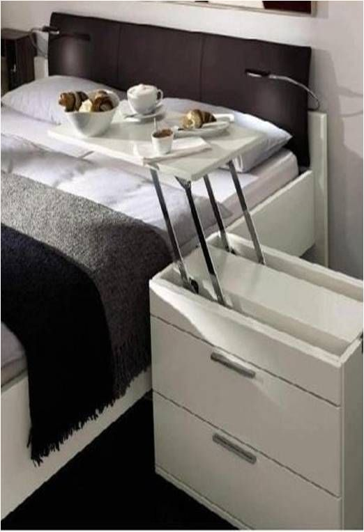 Bed side table idea