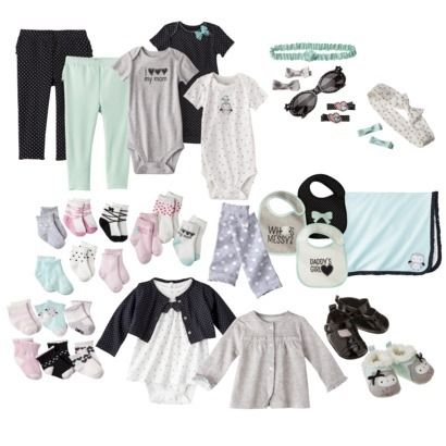 JUST ONE YOU® Made by Carters Newborn Girls' Owl Collection