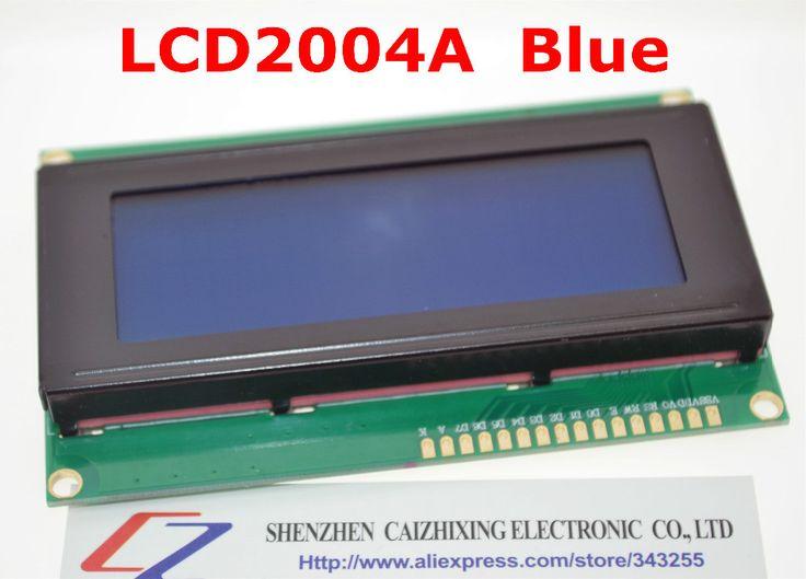 משלוח חינם lcd מועצת 2004 20 * 4 lcd 20 x 4 5 v מודול lcd תצוגת lcd2004 מסך כחול lcd 2004 לarduino