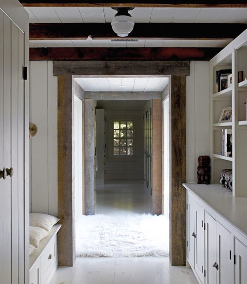 STRAIGHT THRU: Interior, Farmhouse Hallway, Studio Spaces, Hallways, Ceiling, Country Living, Master Bedrooms, Children