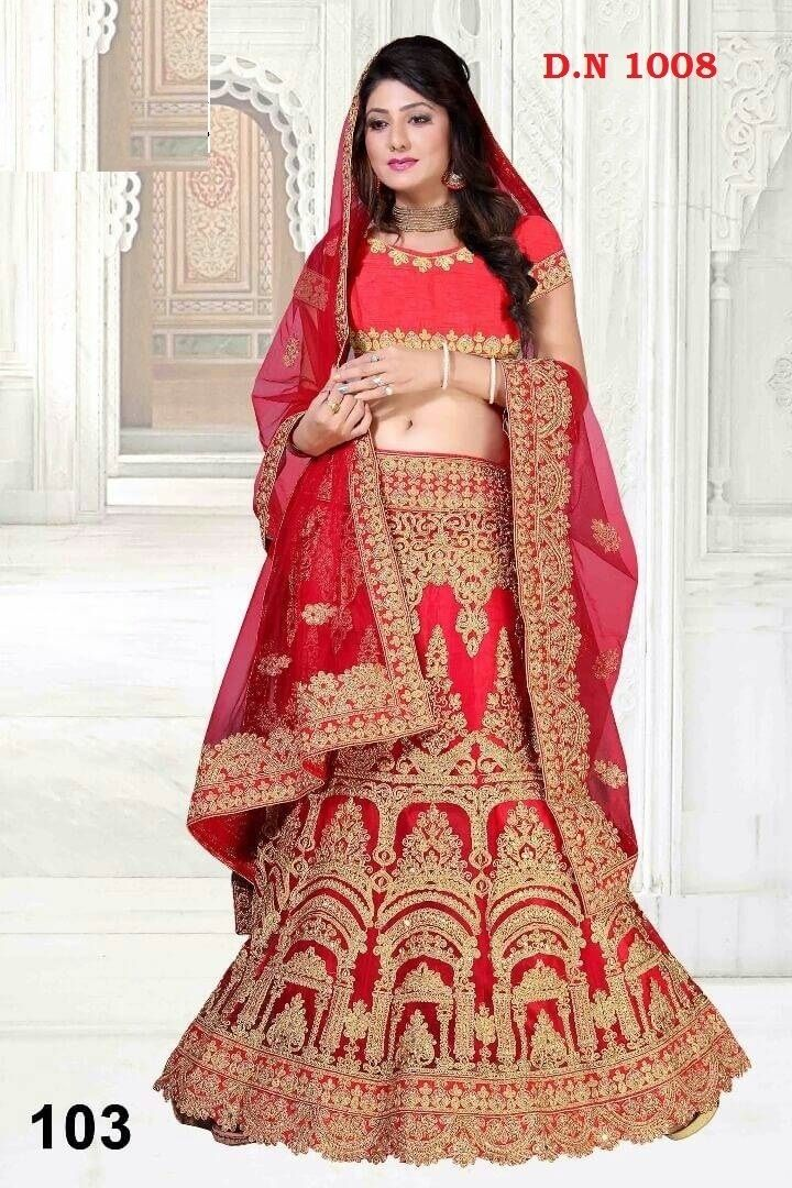 ec977a8fa1 Buy Women's Bangalore Silk Semi-Stitched Lehenga Choli at low prices in  India only on Winsant.com