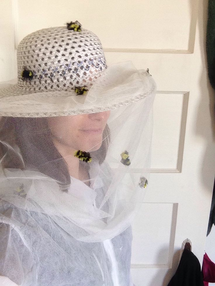 How to Make an Easy DIY Beekeeper Costume for Halloween