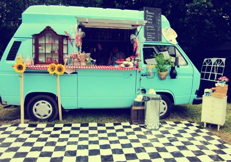 The Snuggly Coffee Van.
