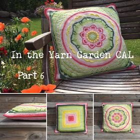In the Yarn Garden: In the Yarn Garden CAL - Part 6, back side and joining