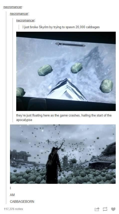 "This person, who clearly abused their power. | 24 Times ""Skyrim"" Was Accidentally Hilarious"