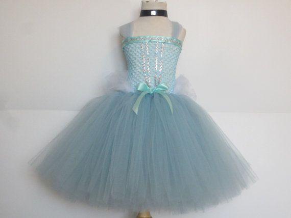 ORIGINAL Cinderella Tutu Dress Full Length Costume Baby Girls Toddler Halloween Costume Princess  Cinderella Inspired by American Blossoms