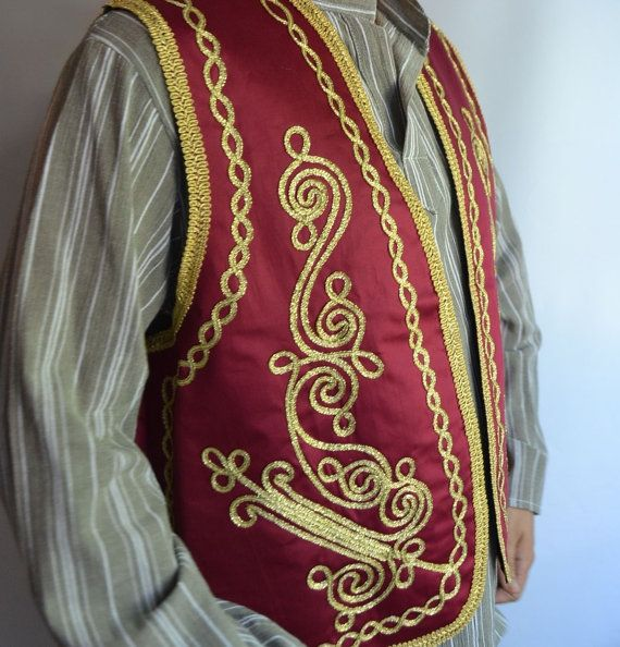 BURGUNDY  Authentic Ottoman Turkish Embroidered by sonathcloth